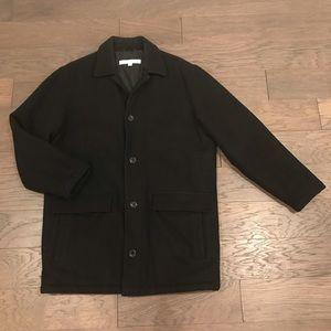 Men's Black Perry Ellis Pea Coat